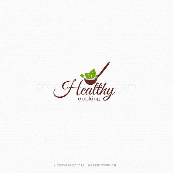 Organic Food Logo Organic Cooking Logo Vegetarian Logo Vegan