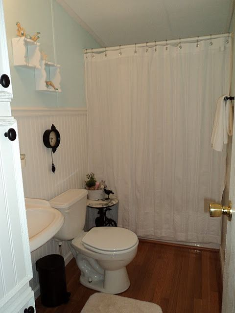 A Spectacular Double Wide Manufactured Home Makeover Magazines Blog And Small Bathroom