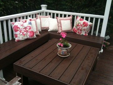 Deck Seating Design Ideas, Pictures, Remodel, and Decor - page 6 ...