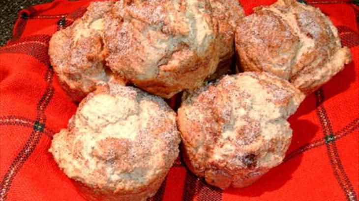 Diabetic Eggnog Knockoff Muffins