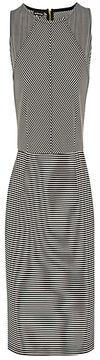 Warehouse Striped Bodycon Dress, Black Stripe on shopstyle.co.uk