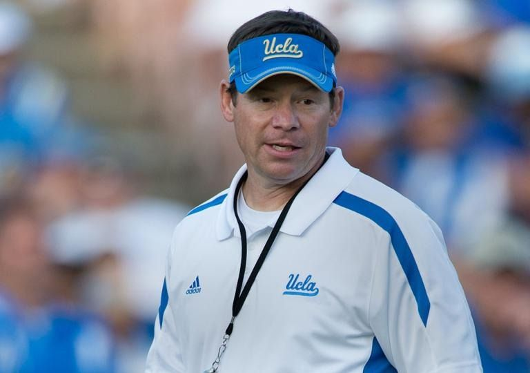 Jim Mora Jr Removes Name From Texas Job Search Texas Jobs Ucla