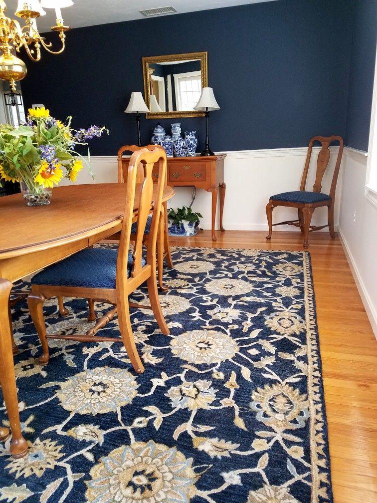 Best Hale Navy By Benjamin Moore Love My New Dining Room 400 x 300