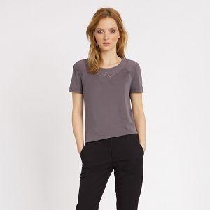 Collar-Style T-Shirt | T-shirts | Comptoir des Cotonniers