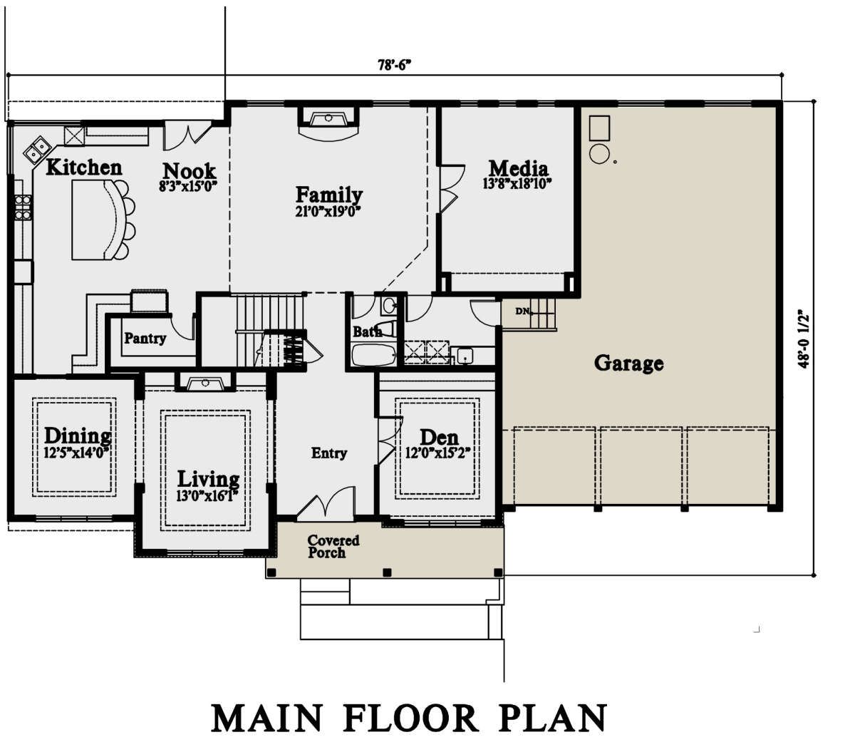 House Plan 4771 00015 Mid Century Modern Plan 4 976 Square Feet 5 Bedrooms 6 Bathrooms In 2020 House Plans House Plan With Loft Floor Plans