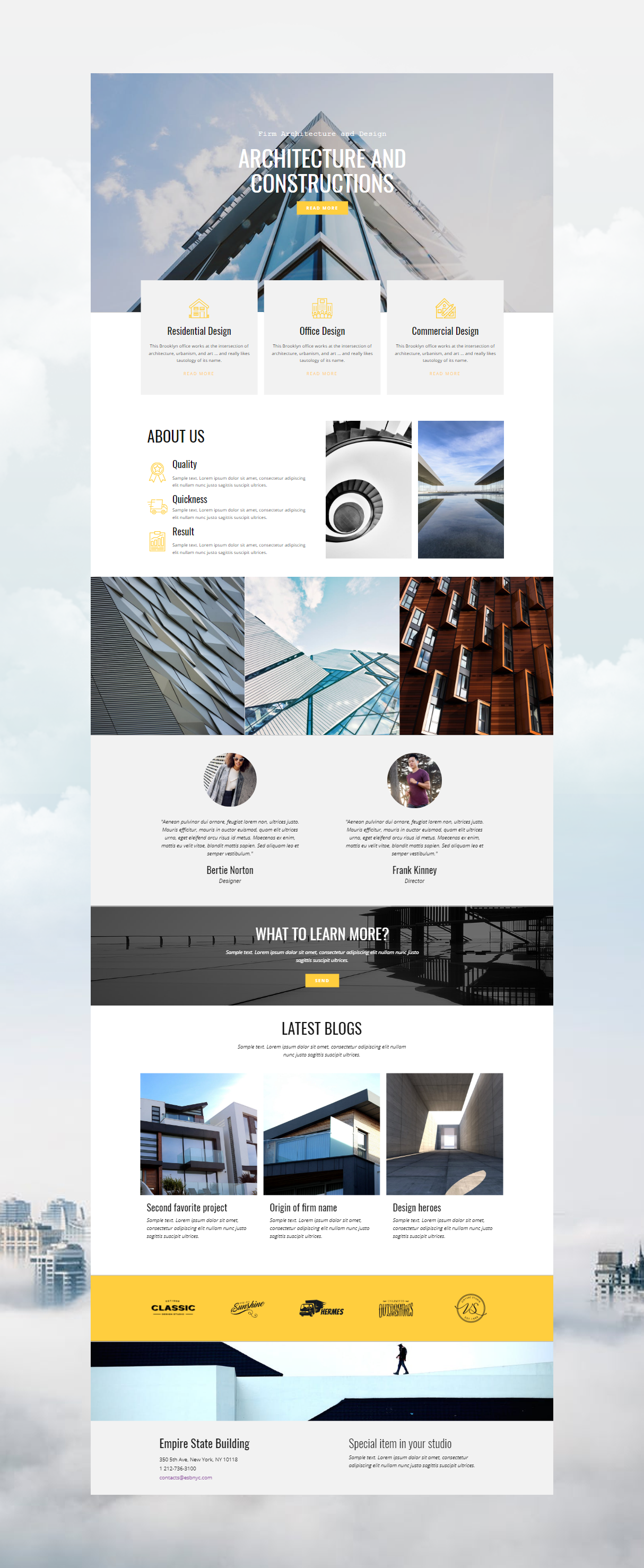 Nicepage Is A Free Mobile Friendly Website Builder Choose From 1000 Trendy Web Templates Custo In 2020 Corporate Website Design Web Layout Design Web Design Websites