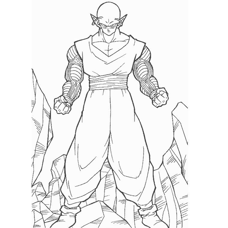 Dragon Ball Z Coloriage Dragon Ball Z Petit Coeur A Imprimer