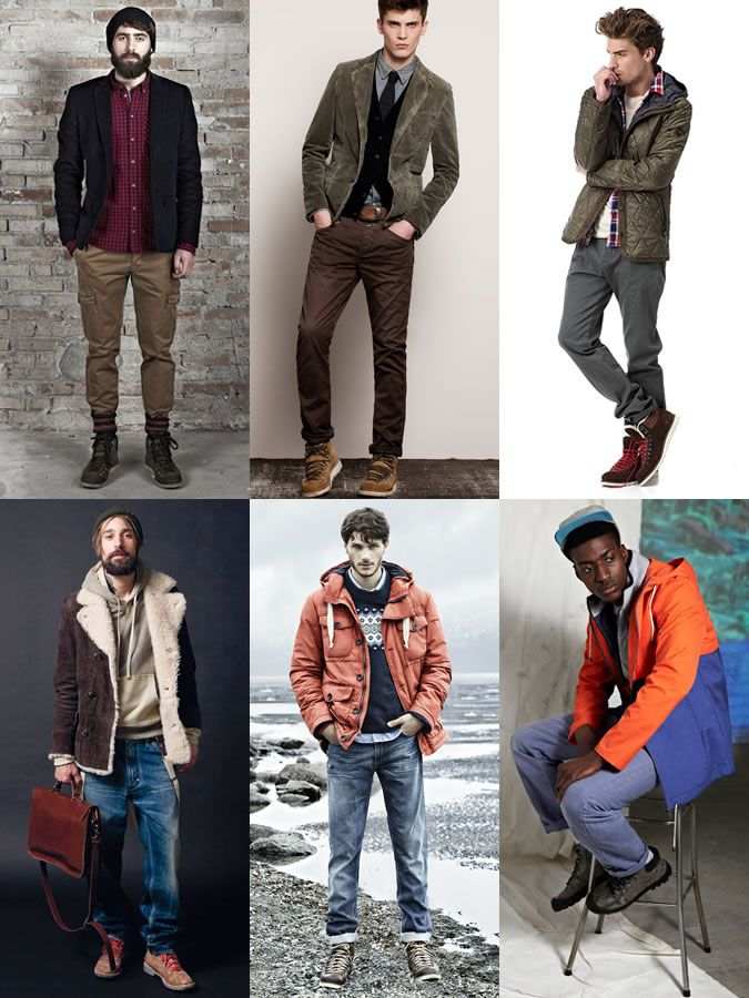 Men's Winter Appropriate Footwear Guide: The Hiking Boot Lookbook ...