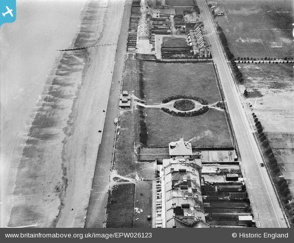 Britain From Above Victoria Gardens And Marine Parade Hythe Kent 1929 Marine Parade Folkestone England
