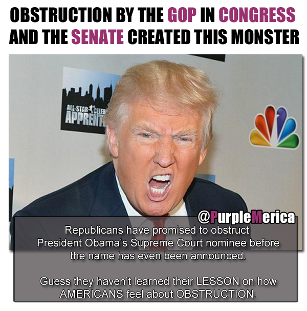 b1fb142ed7a8b2ed5ad0e5e5de9a70db obstruction created this monster trump the gop created the donald