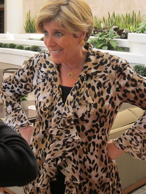 Suze Orman at The Women's Conference