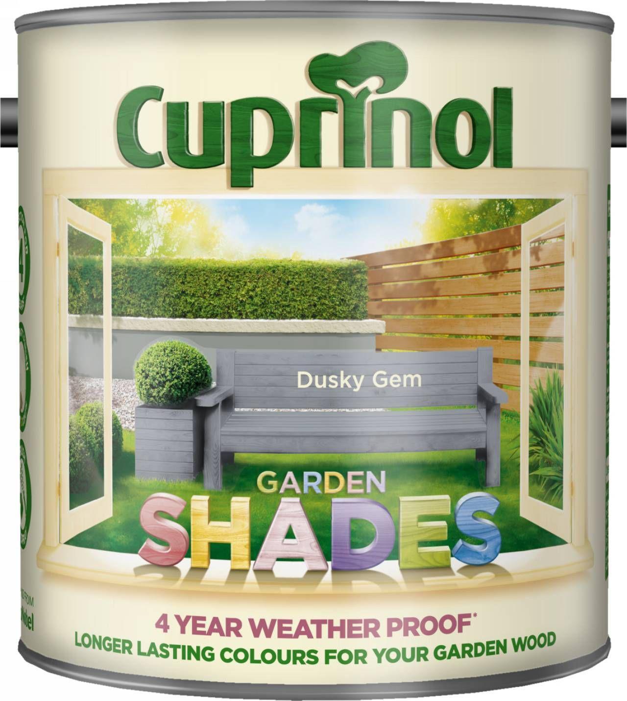 Cuprinol Garden Shades Dusky Gem Wood Paint 2.5L