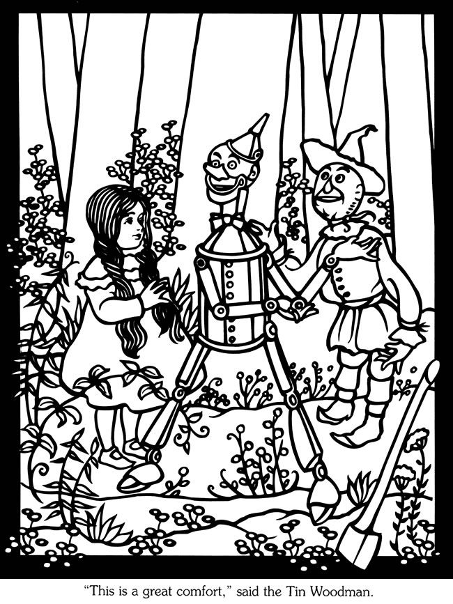 Welcome To Dover Publications Sample The Land Of Oz Stained