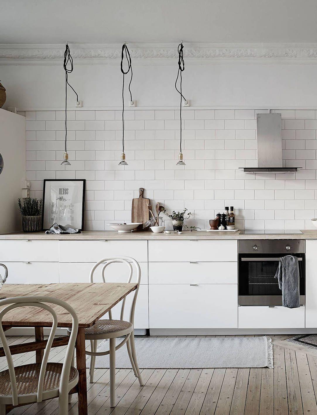 Minimilist white scandi kitchen | ARCHITECTURE | Pinterest ...