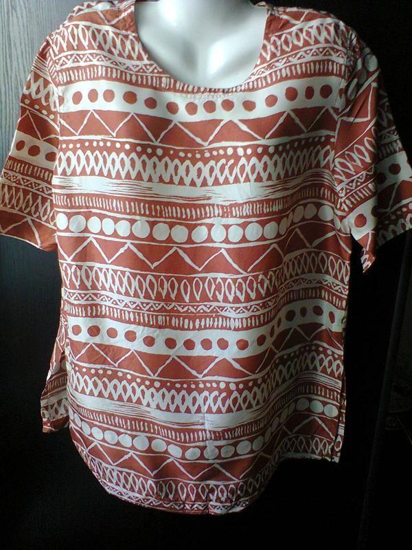 Блузка в этническом стиле из натурального шелка., цена - 60,00 грн, купить по доступной цене | Украина - Шафа