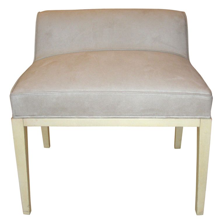 Pleasant Small 1930 1940 Individual Bench By Andre Arbus Upholstery Short Links Chair Design For Home Short Linksinfo