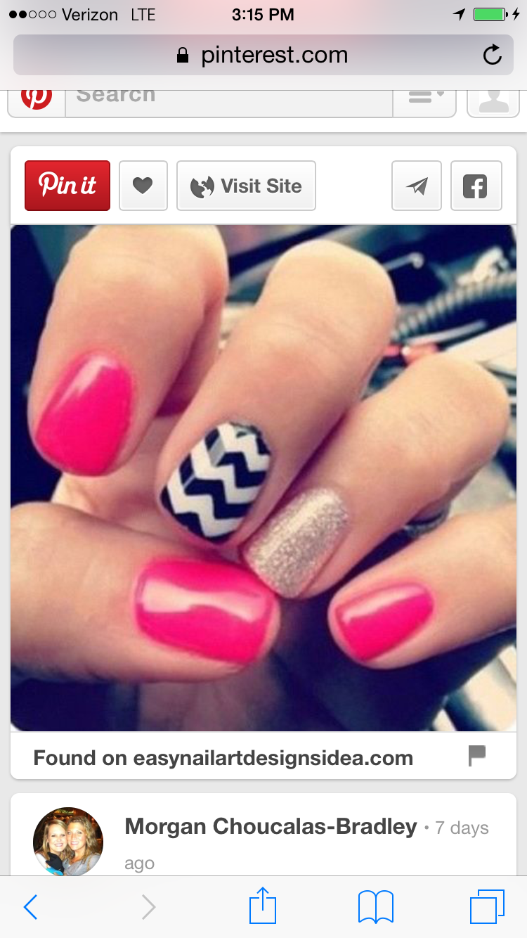 Pin By Jenny Bowell On Nails Pinterest Nails Cute Nails And
