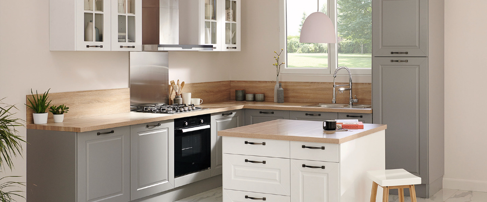 Cuisine Idyle Romance Brico Depot Kitchen Cabinets Home House Interior