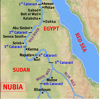 The Sixth Cataract Of Nile The Nubian Section Of The Nile
