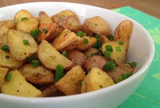 How to make roasted potatoes that taste sooo good!