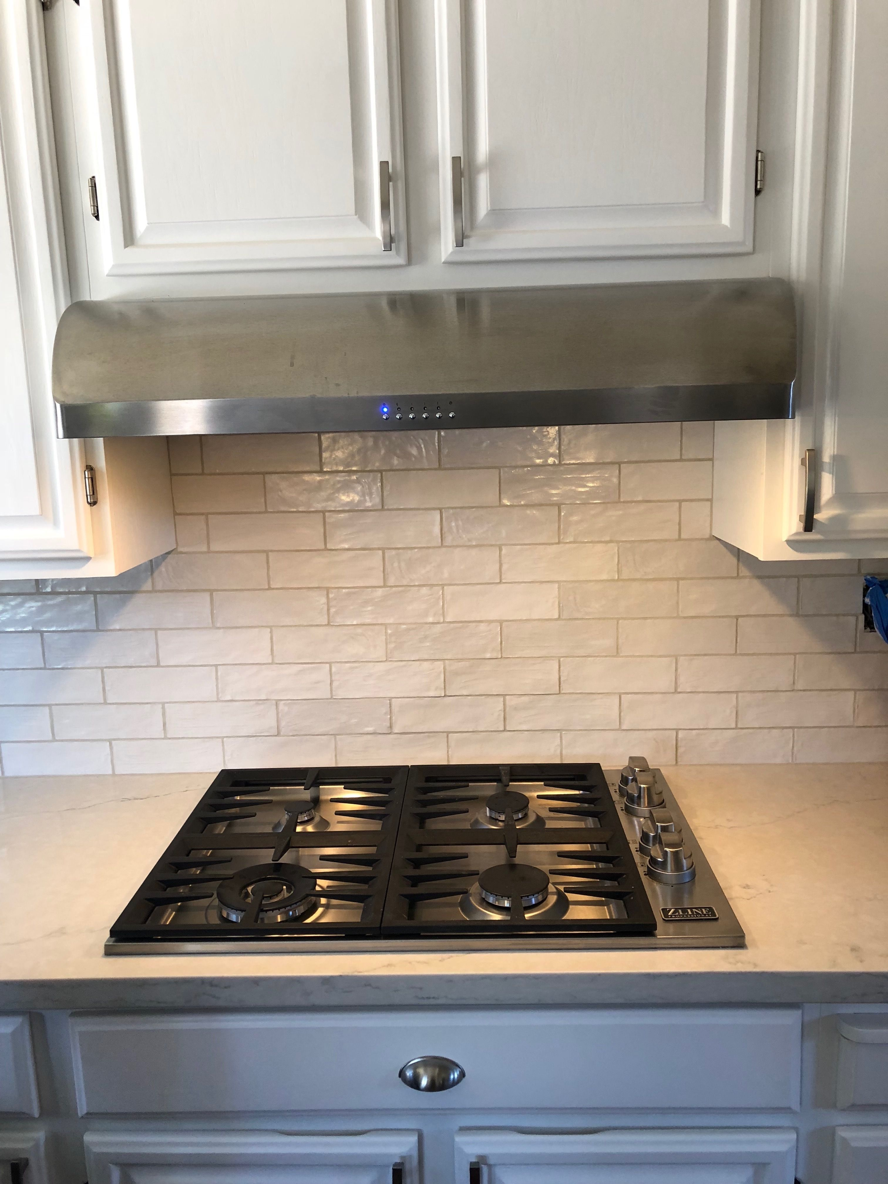 Zline 48 In Porcelain Rangetop With 7 Gas Burners Rt48 Gas Stove Top Wall Mount Range Hood Kitchen Design Trends