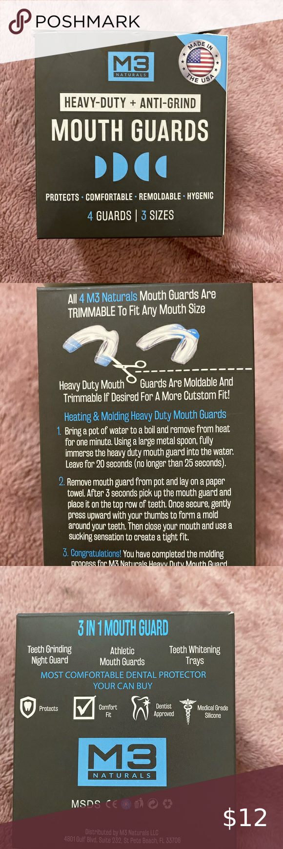 13+ Mouth guards