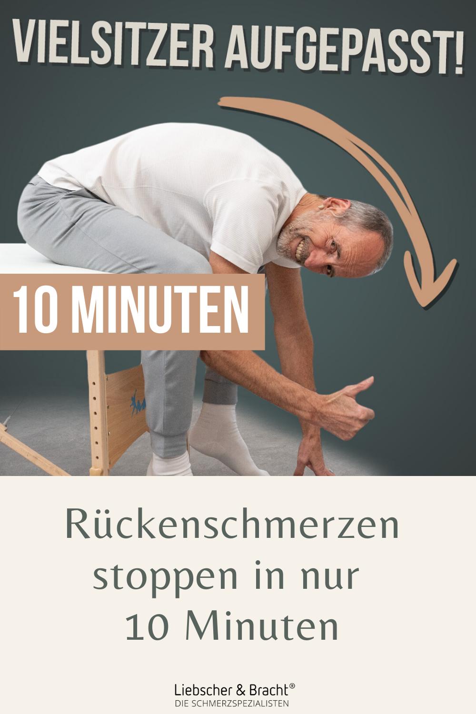 Du sitzt viel und plagst dich deshalb ständig mit Rückenschmerzen herum? Diese Übungen können dir he...