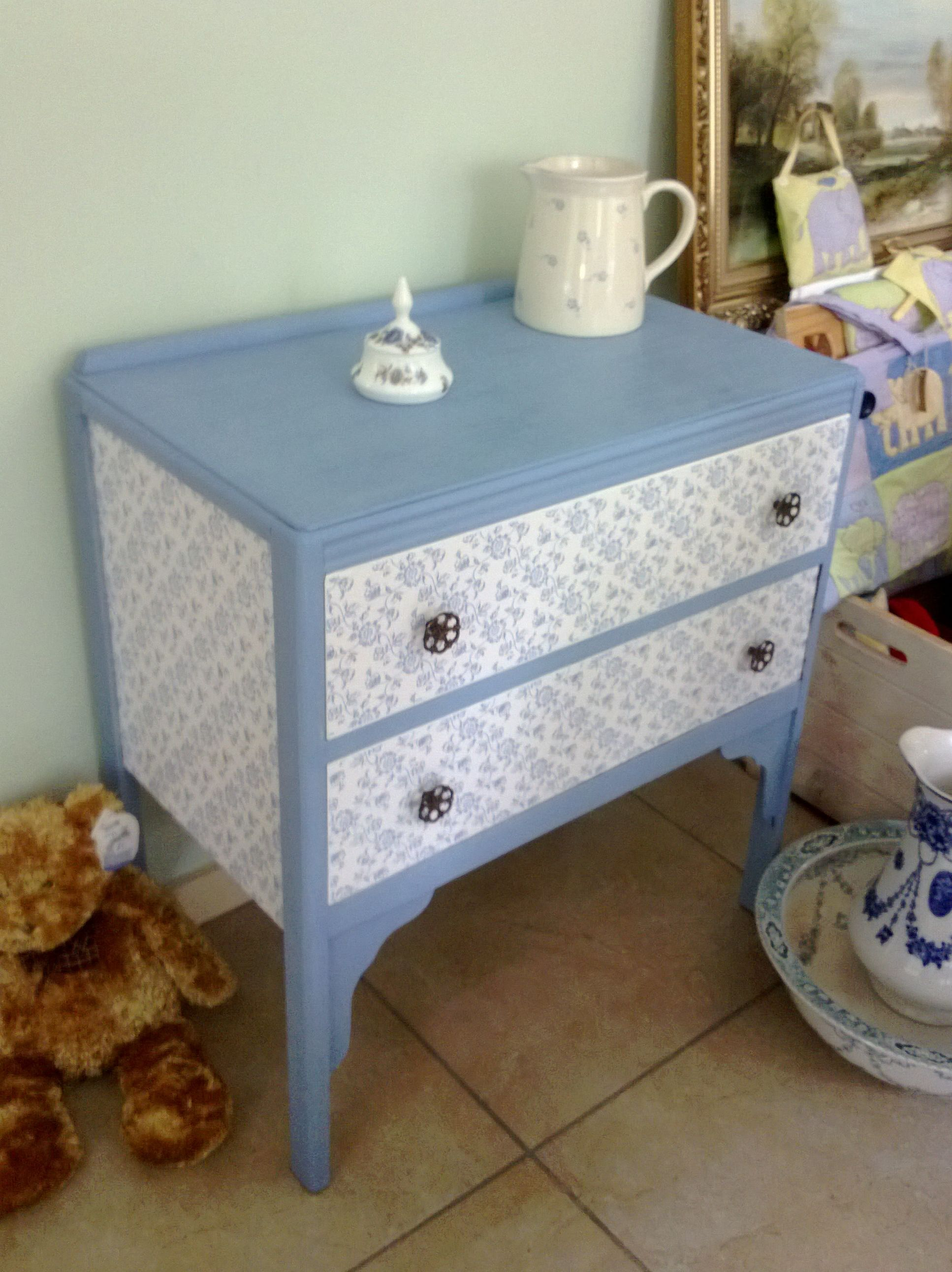 Very Pretty Vintage Dresser By Every One Unique Facebook Com Every1unique In Northern Ireland Hand Painted Furniture Vintage Dressers Painted Furniture