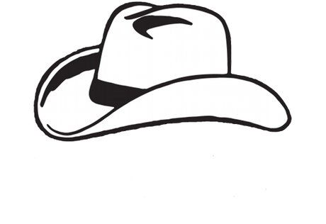 Cowboy hat svg. Second life marketplace silhouette