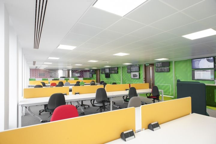 Paddy Power Office By ThirdWay Interiors London UK Retail Design Blog