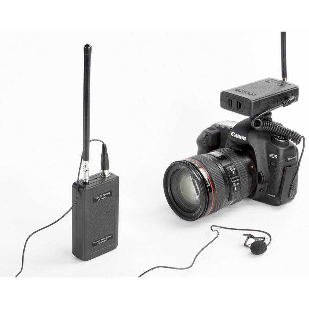 >> Click to Buy << Saramonic WM4C Wireless VHF Lavalier Microphone Bundle with 1 Transmitters, 1 Receivers for DSLR Cameras #Affiliate