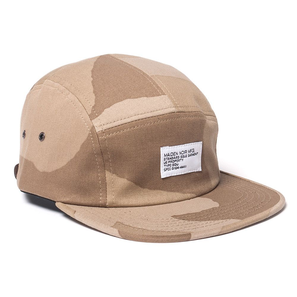 Maiden Noir Big Camo Camp Cap Beige Camo