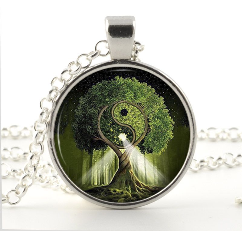 Tree Necklace - Tree of Life Pendant -