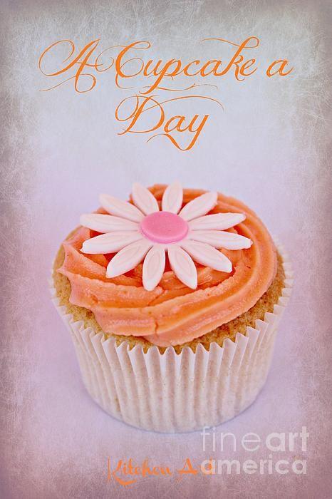 Cupcake Day by Clare Bevan #clarebevan #cupcakes #kitchenart #photographyforsale