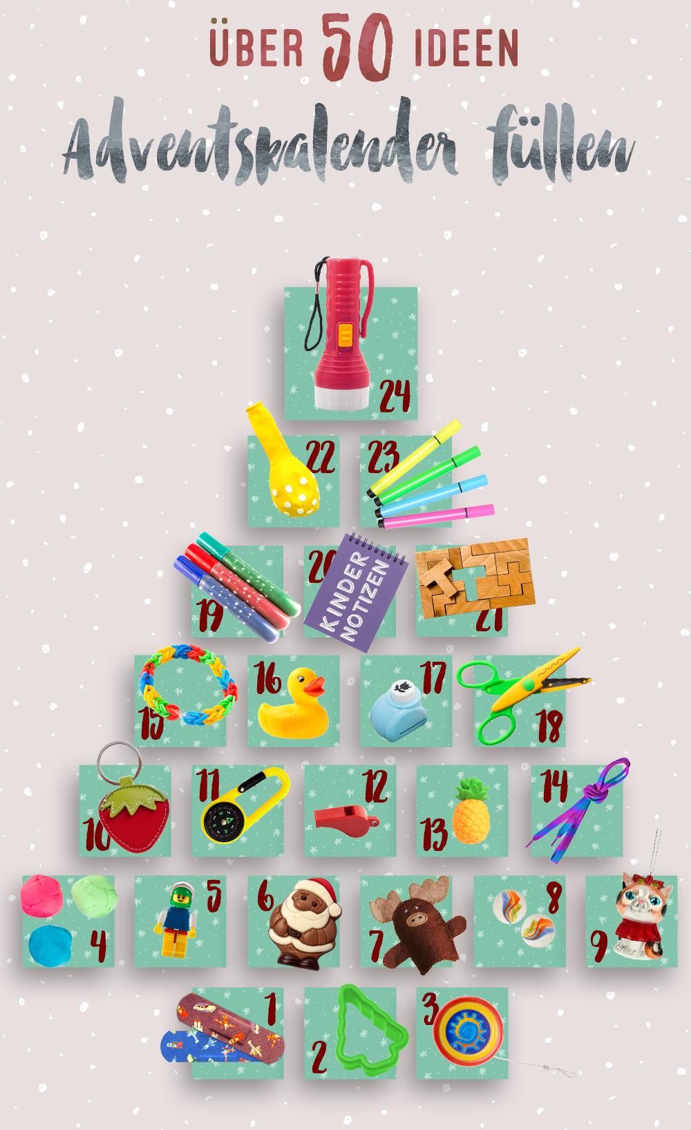 Adventskalender Fullen Fur Kinder Susse Ideen Fur Weihnachten Adventskalender Adventskalender Kinder Und Adventskalender Geschenke
