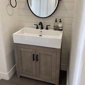"Modern Farmhouse 31.5"" Single Sink Vanity"