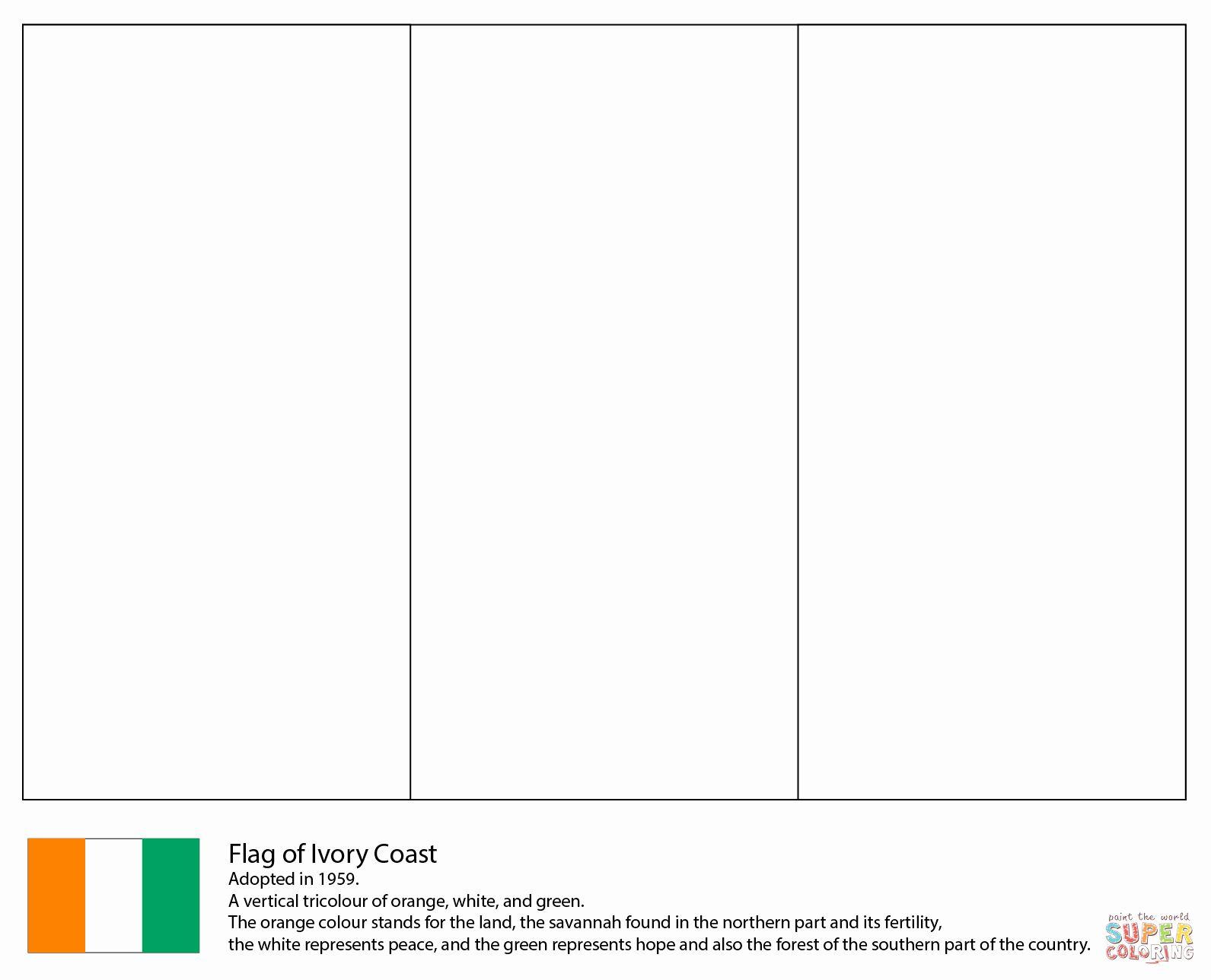 Flag Of Ireland Coloring Page Fresh Dessus Coloriage Des Drapeaux