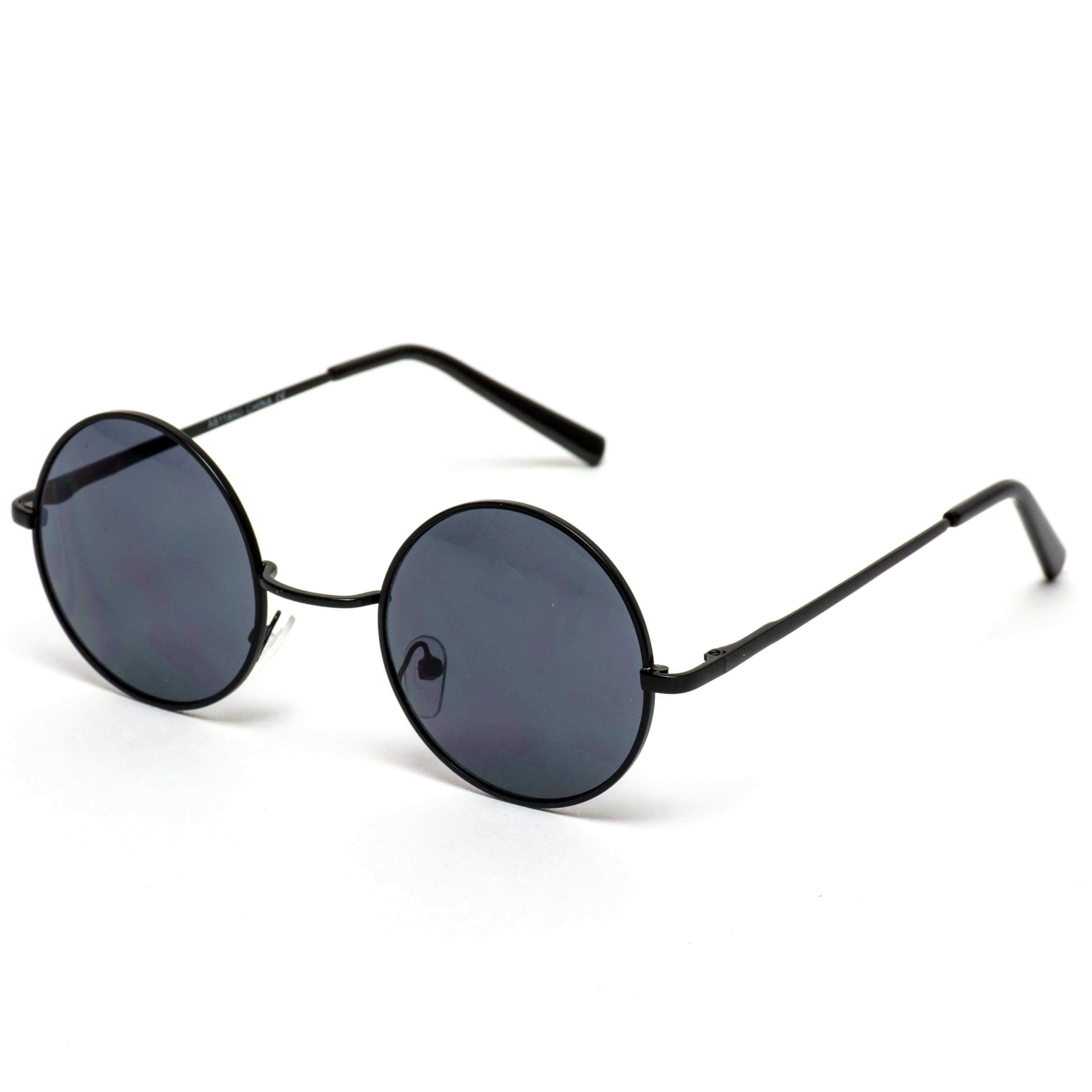 a9f28383c2e11 Retro Round Metal Hippie John Lennon Inspired Sunglasses Classic pair of  small round sunglasses to add a retro feel to your outfit!