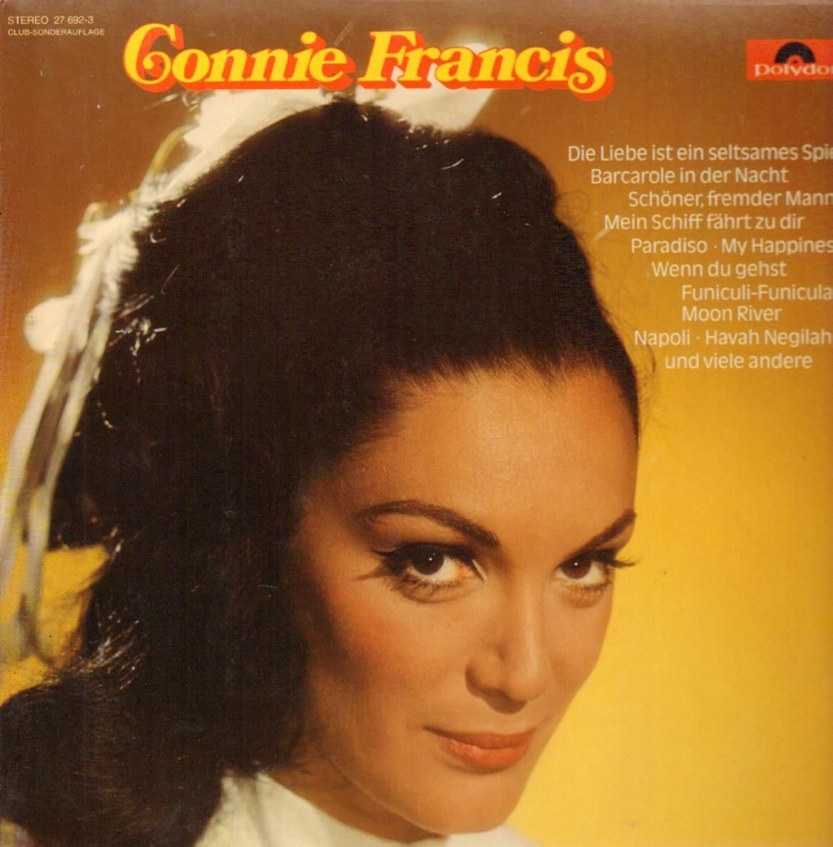Images Of Connie Francis Connie Francis Connie Francis