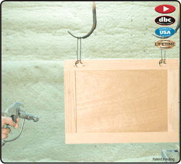 Euro Finishing Clip For Hanging Cabinet Doors To Paint And Dry Hanging Cabinet It Is Finished Woodworking