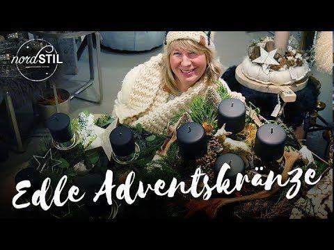 Imke Riedebusch Weihnachtsdeko.Edle Adventskränze Youtube Weihnachten Video Adventskränze