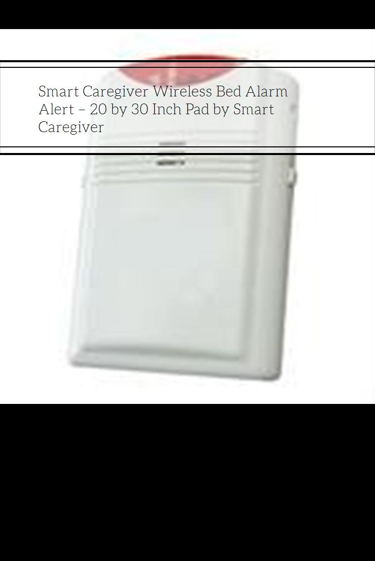 Smart Caregiver Wireless Bed Alarm Alert 20 by 30 Inch