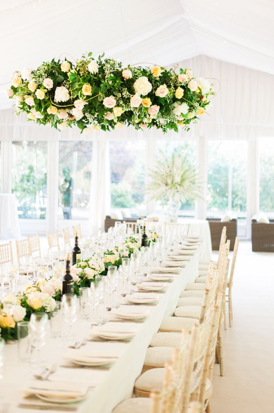 English wedding decoration ideas  This English Garden Wedding is Our Perfect Cup of Tea  English