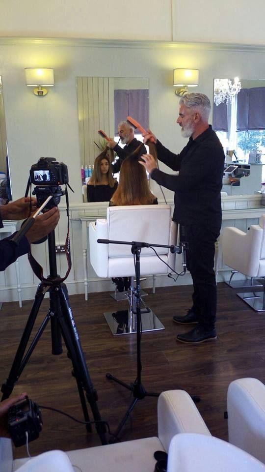 Video in London with brand ambassador Robert Kirby