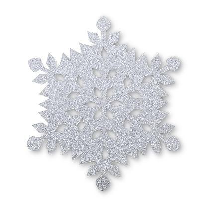 Essential Home Christmas Glitter Felt Place Mat ...