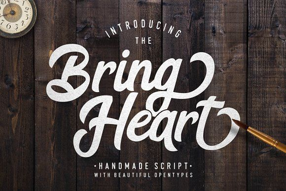 The Bring Heart& Extras by Shiro Std on @creativemarket