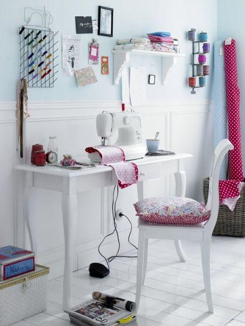 cuarto de costura | HOME DECO | Pinterest | Cuarto de costura ...