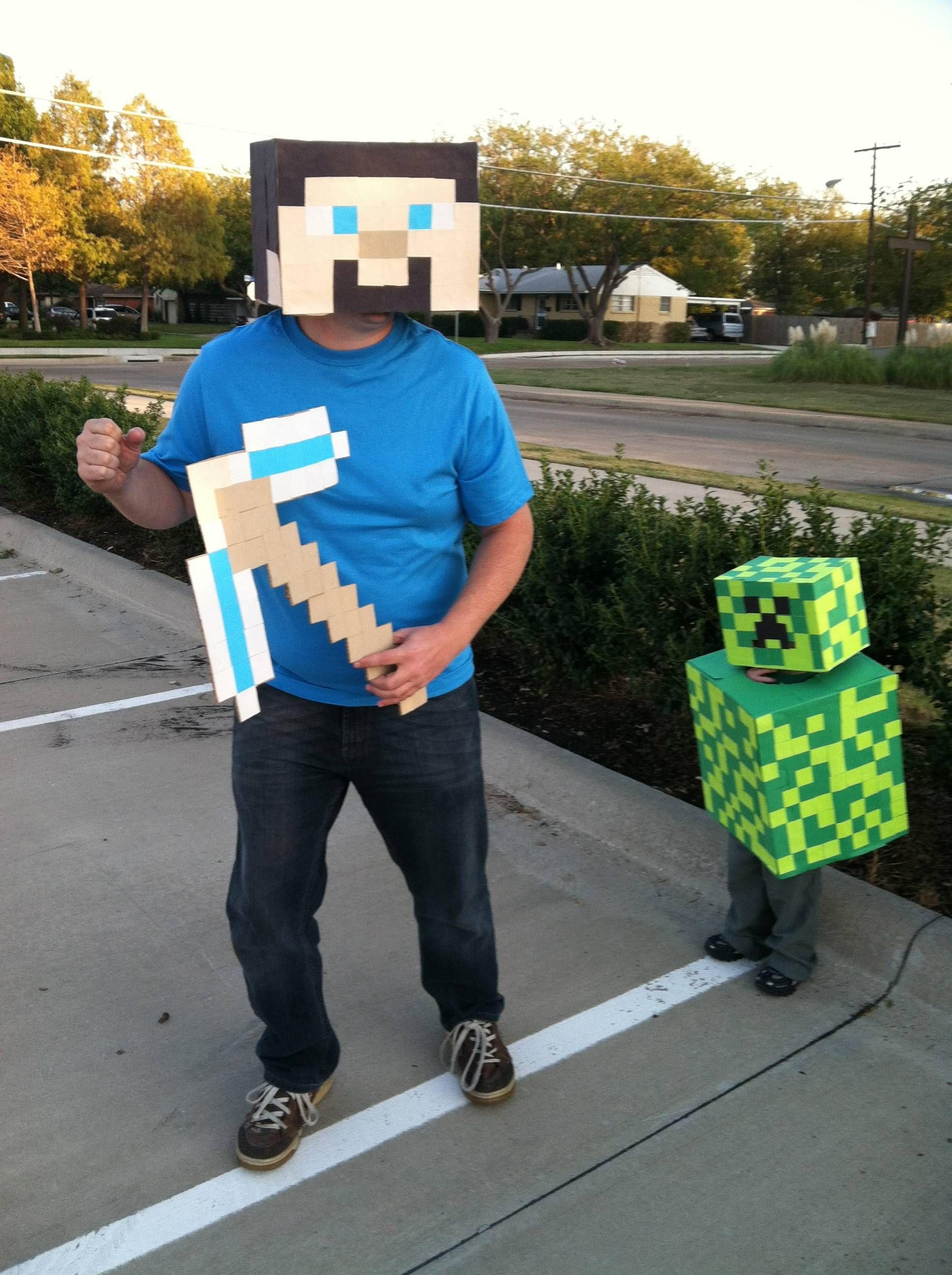 cosplay cardboard minecraft 2 year old creeper kid costume & Bwahahahaha. | Minecraft costume | Pinterest | Costumes Homemade ...