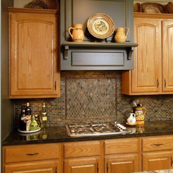 +39 Kitchen Backsplash with Dark Cabinets Back Splashes ... on Backsplash With Black Granite  id=33522