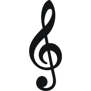 echo singing clip art note and music clipart rh pinterest co uk treble clef clipart picture treble clef clipart no background